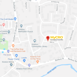 MyCRO Location map